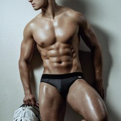 Hunk 2 Underwear featuring David Cardona.