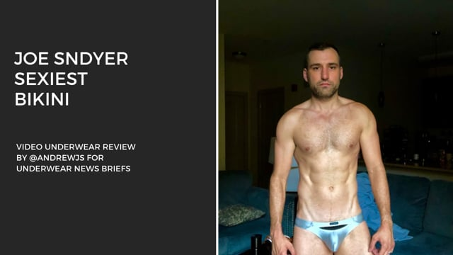 Underwear Review - Joe Snyder Sexiest Bikini