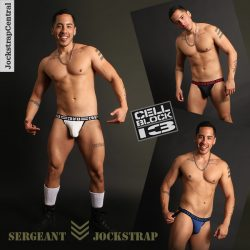New Cellblock 13 Sergeant Jockstraps at Jockstrap Central