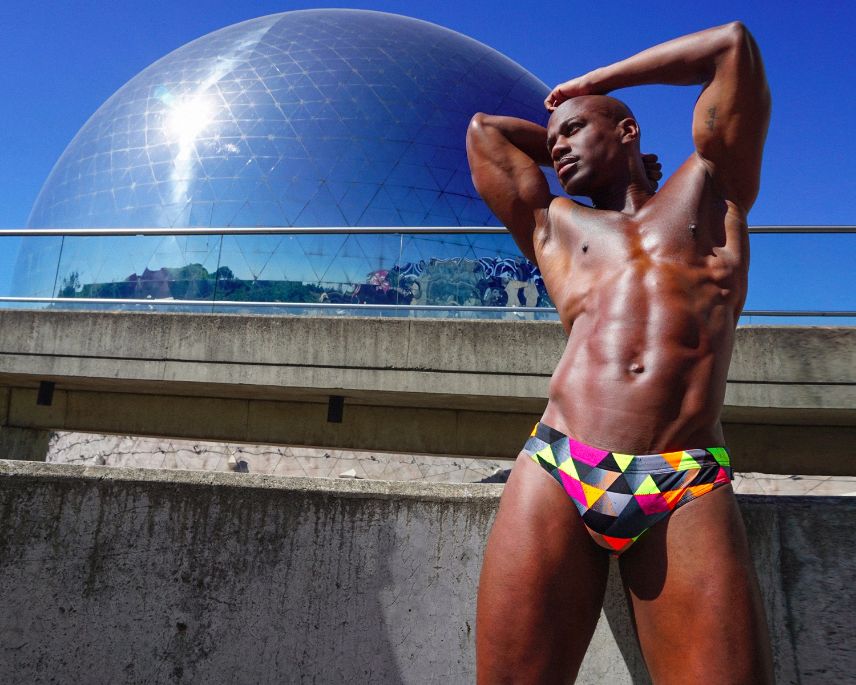 Wapowear featuring model Stevens Dujon Solin