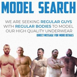 Model Search – CockpitUndies is looking for Real Guys
