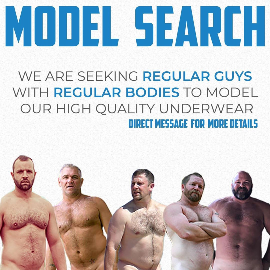 Model Search - CockpitUndies is looking for Real Guys