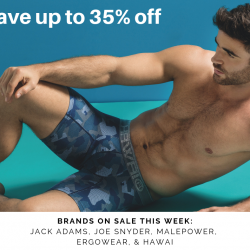 Save 35% off Ergowear, Hawai, & Joe Snyder