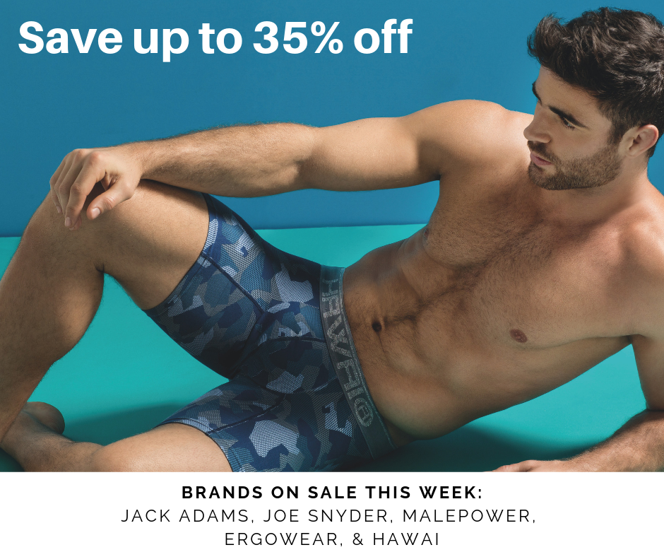Save 35% off Ergowear, Hawai, & Joe Snyder