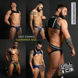 Going Going Gone Clearance Sale at Jockstrap Central
