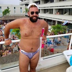 A Cubs Tale – Wearing a Swim Brief in Public