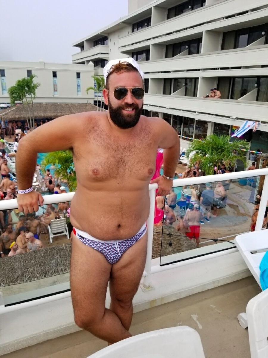 A Cubs Tale - Wearing a Swim Brief in Public