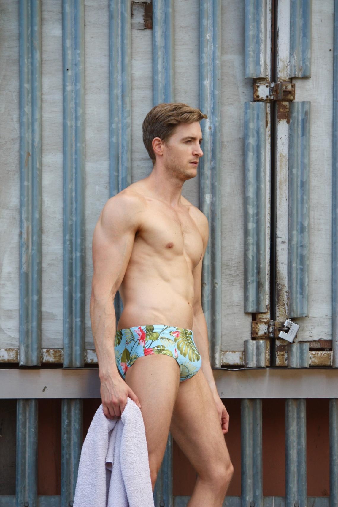 Paul Smollen shoot featuring Model Danny