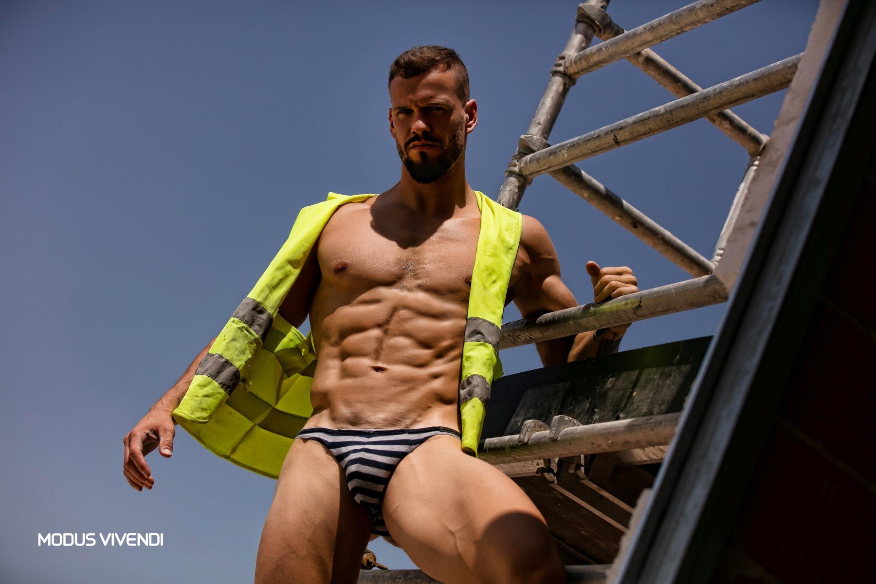 Modus Vivendi Launches the Striped underwear Line