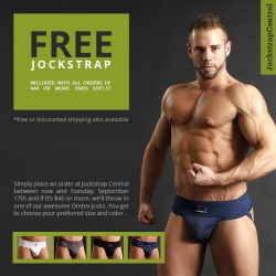 Get a Free Jockstrap at Jockstrap Central – 2 Days Only