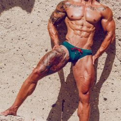 Adrian C. Martin Shoot Marcuse with Model Dailos