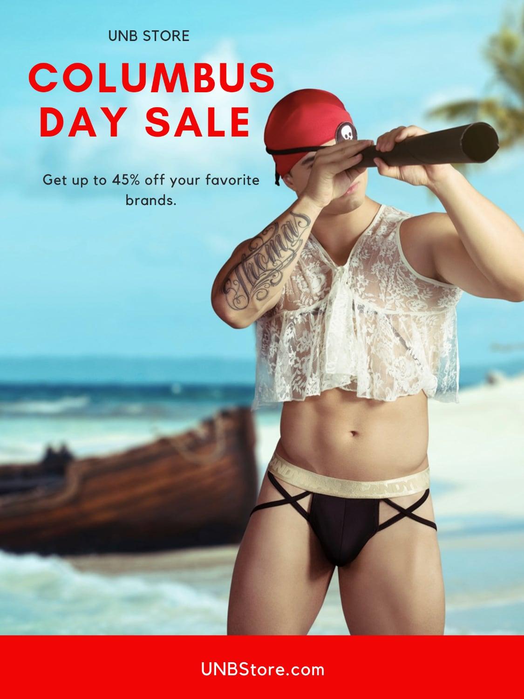 Shop the UNB Store Columbus Day Sale