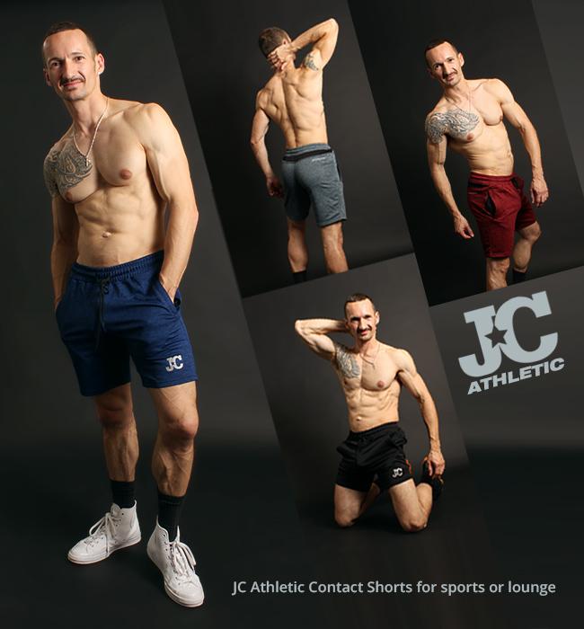 New JC Athletic Impact Shorts at Jockstrap Central