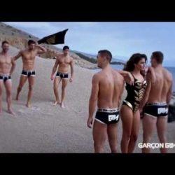 Garçon Model Underwear Photo Shoot – Behind the Scenes – 2012