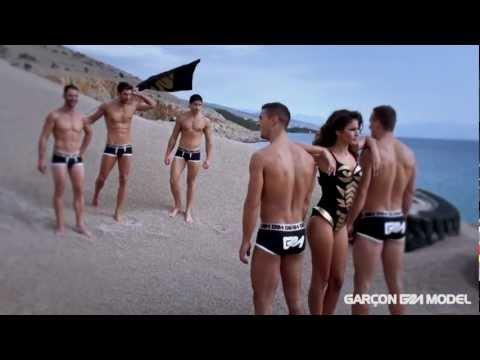 Garçon Model Underwear Photo Shoot - Behind the Scenes - 2012