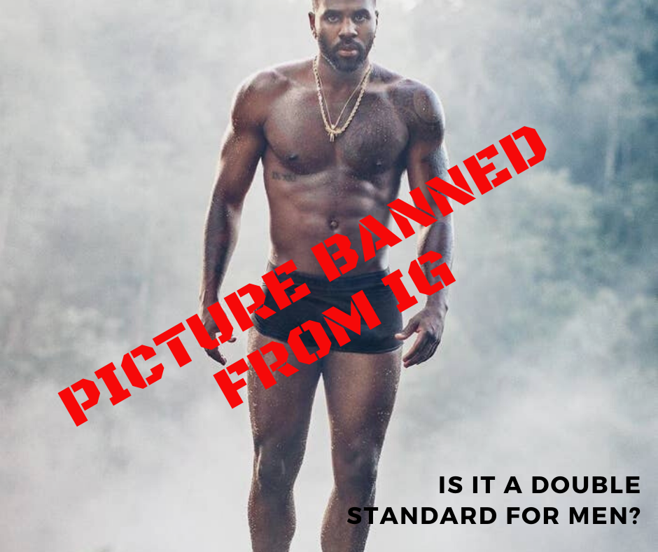 Jason Derulo picture banned on IG