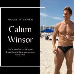 Model Interview – Calum Winsor