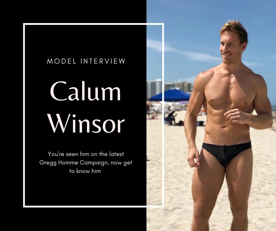Model Interview - Calum Winsor