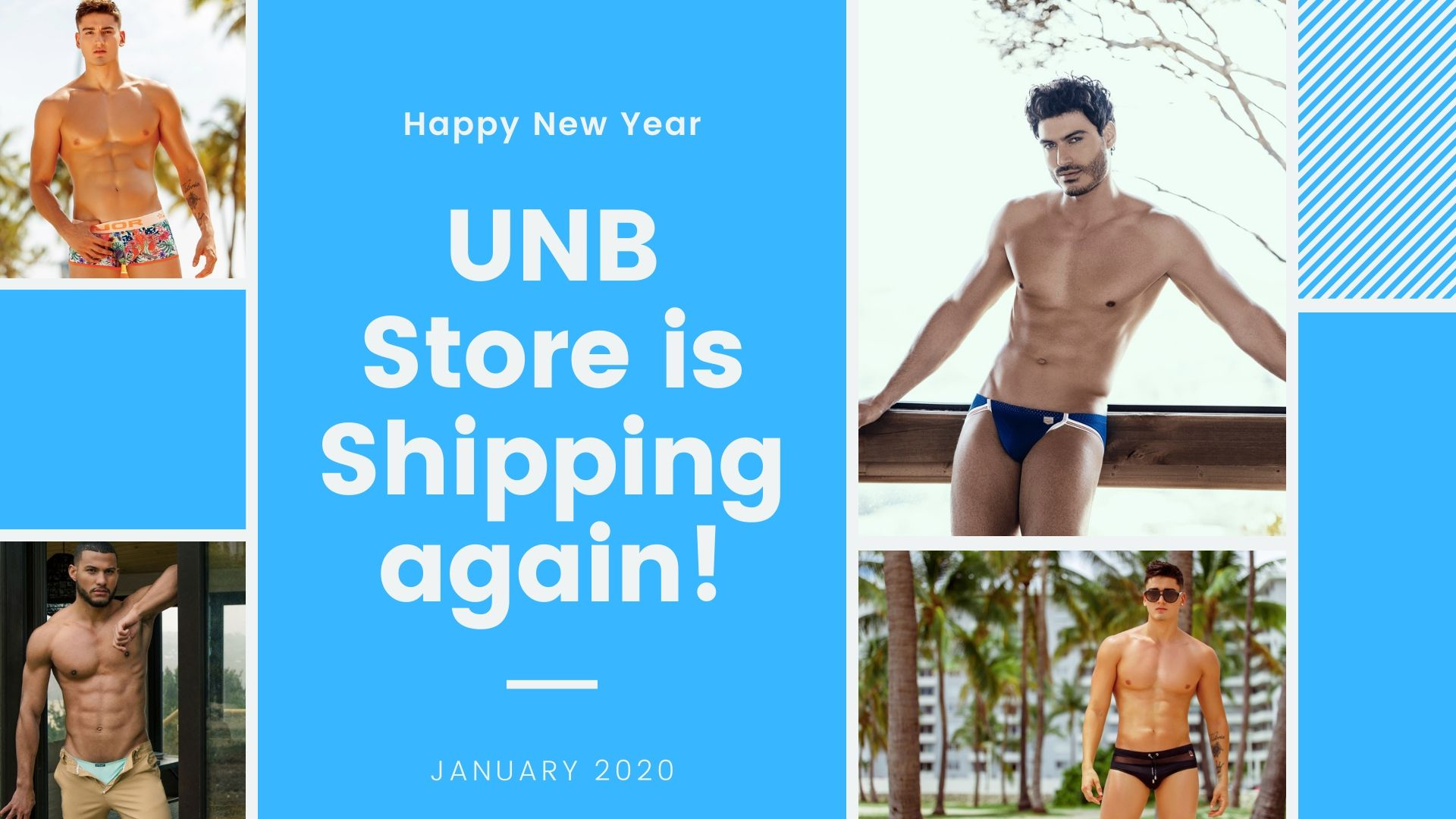 UNB Store is shipping again!