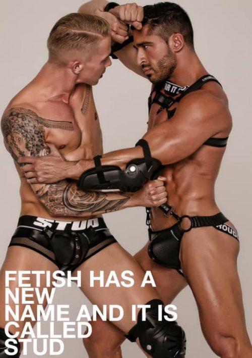 Stud Underwear Fetish Gear