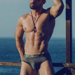Adrian C Martin – new model Andres Gaspar
