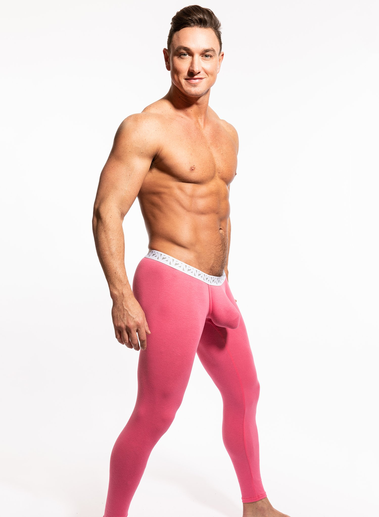 N2N Bodywear Stay warm in Pink Miami Tights