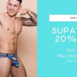 Save 20% on Supawear at UNB Store