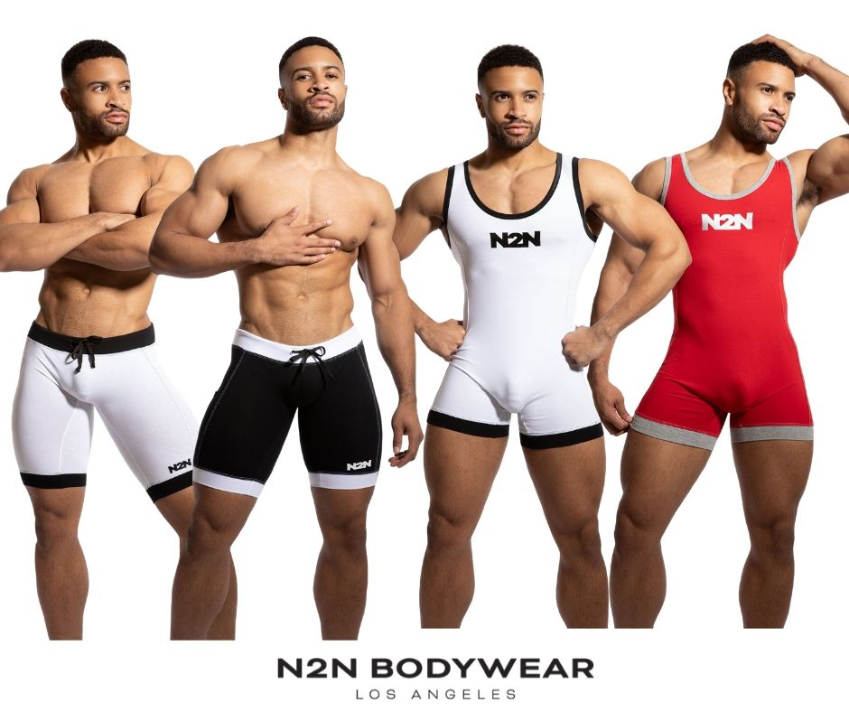 New N2N Bodywear Cotton Sport Singlet & Biker