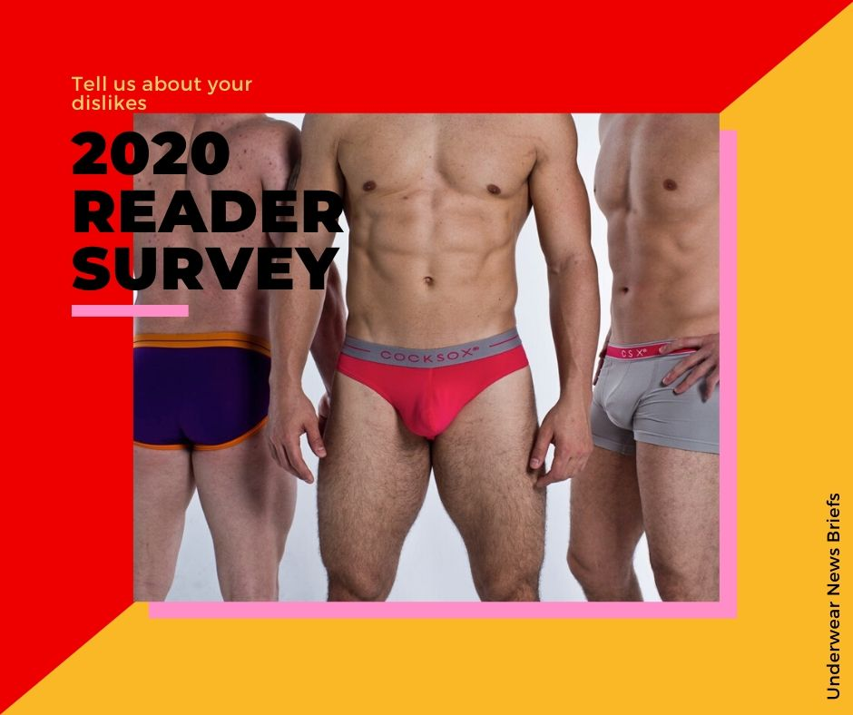 Tell us about your underwear collection - 2020 UNB Reader Survey