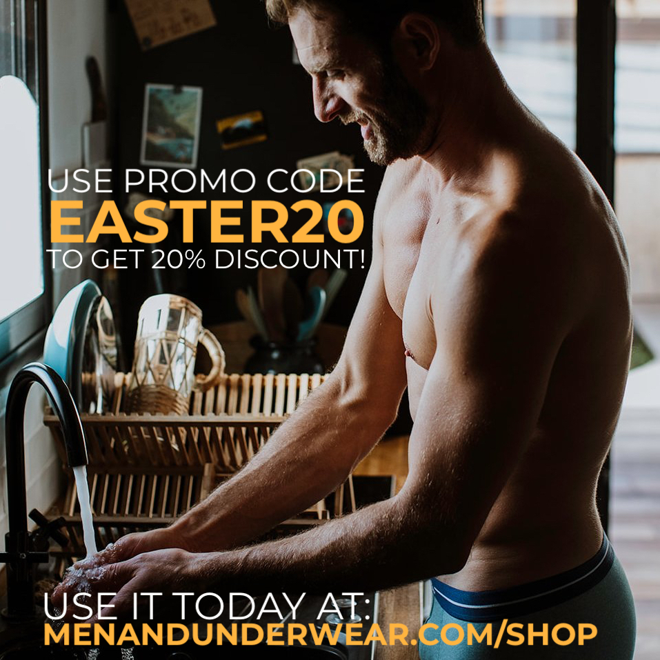 Get 20% off at Men and Underwear Store