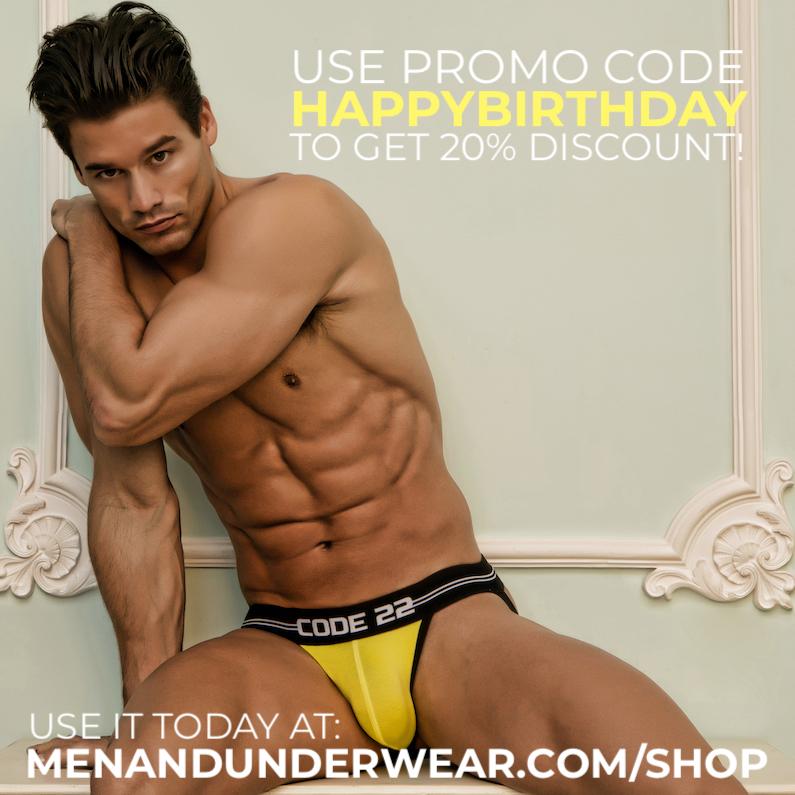Men and Underwear Store turns 2!