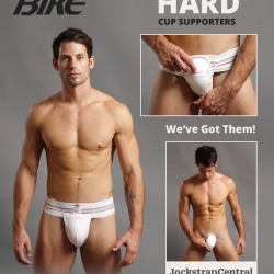 Authentic Bike Hard Cup Supporters – Jockstrap Central has them!