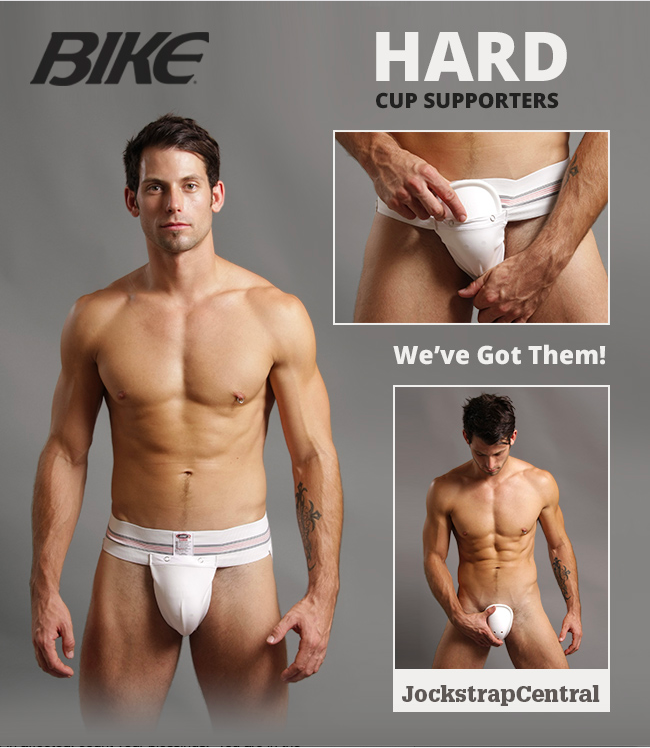 Authentic Bike Hard Cup Supporters - Jockstrap Central has them!