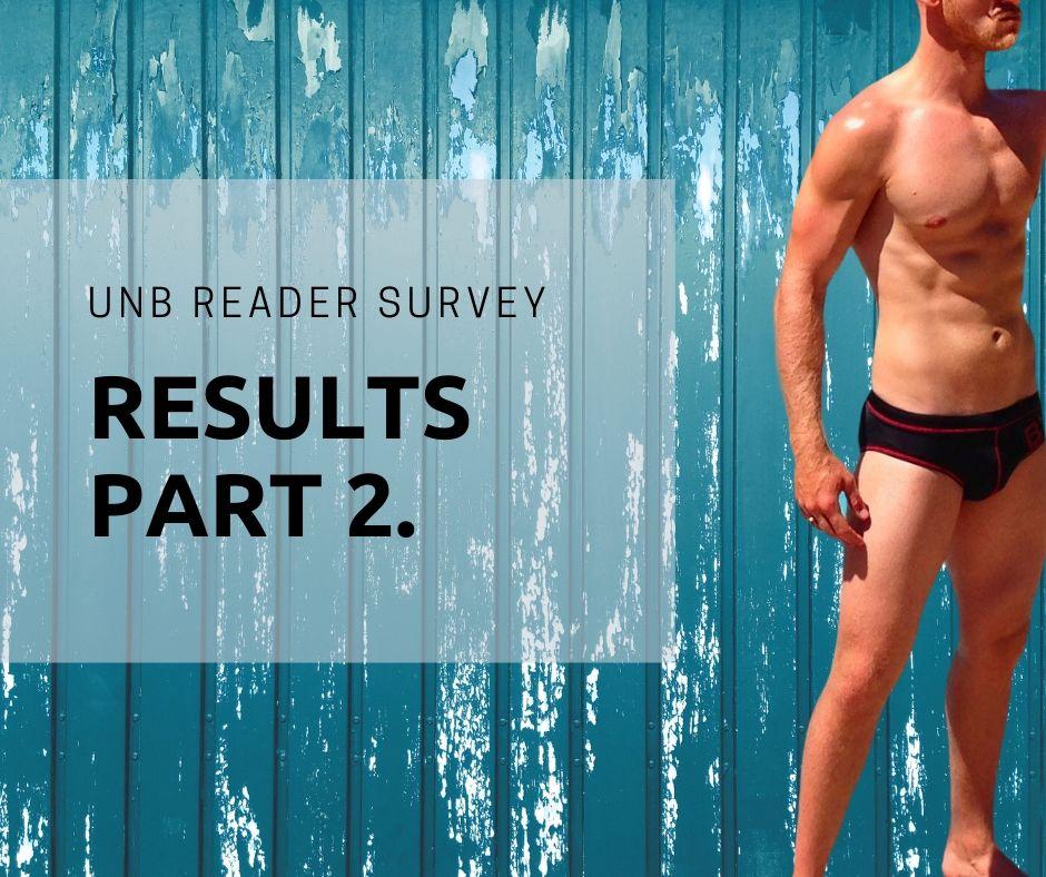UNB Reader Survey Results Part 2