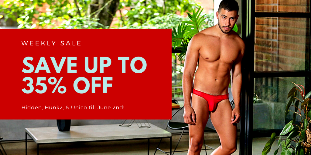 UNB Store - Sale on Hidden, Hunk2, and Unico