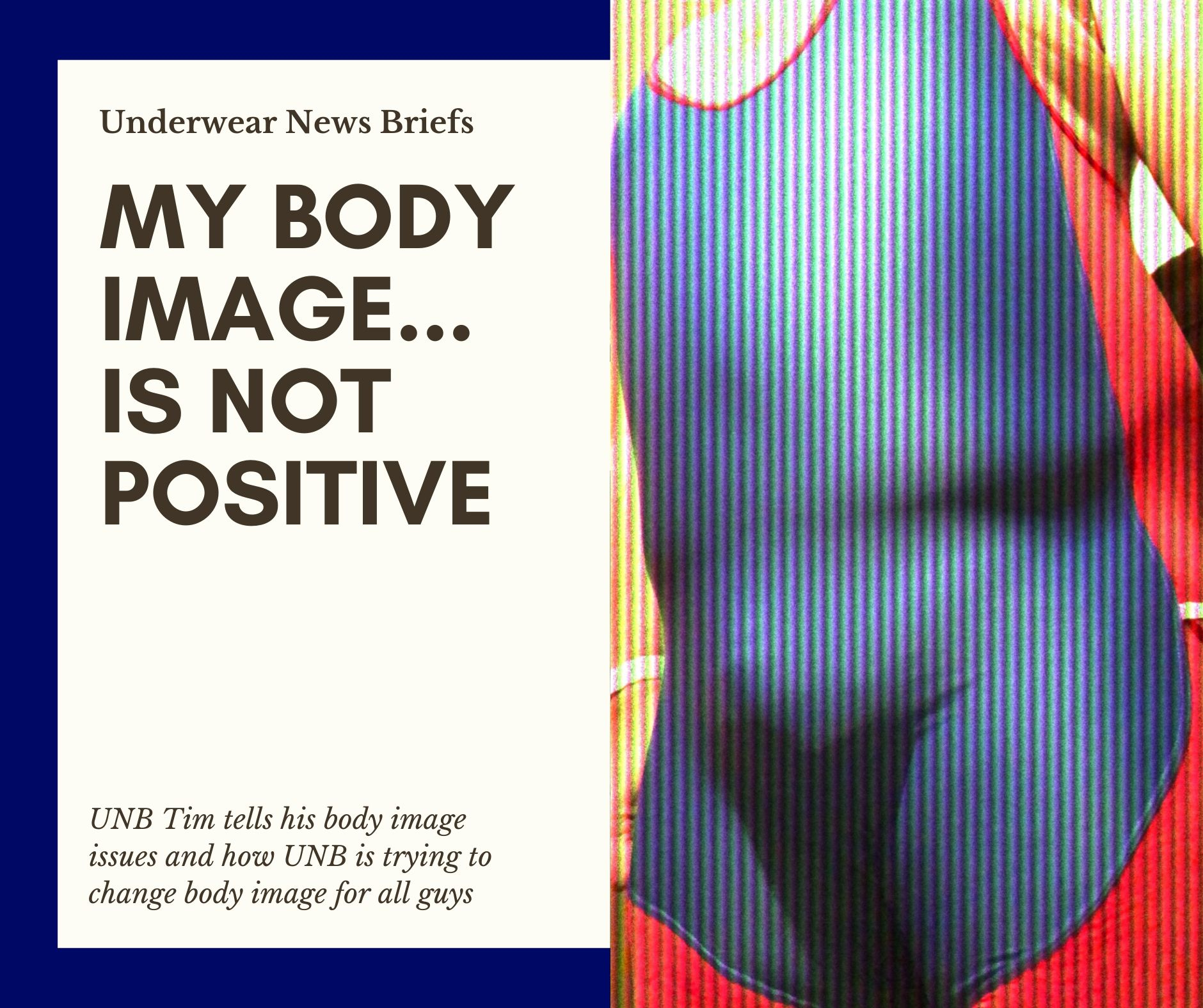 My Body Image...Is Not Postive