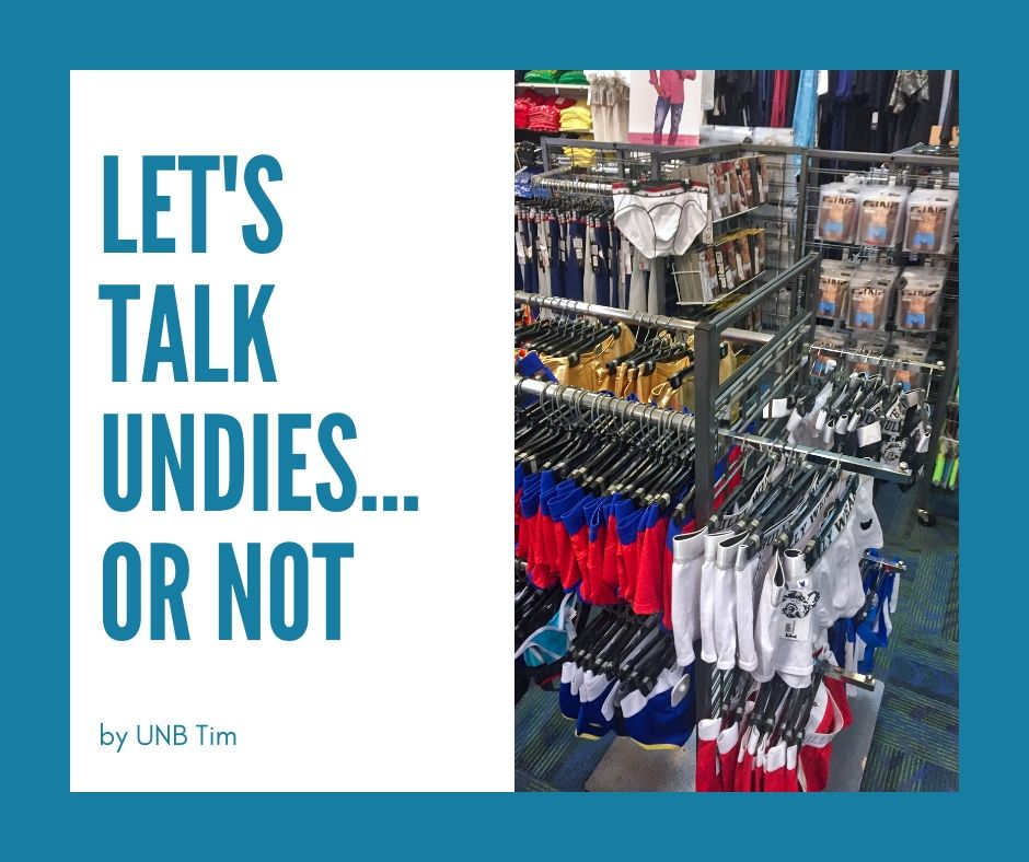 Let's talk about undies... or not
