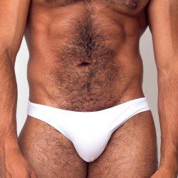 Estevez new classic white bikini