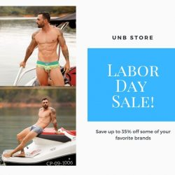 Labor Day Sale at UNB Store