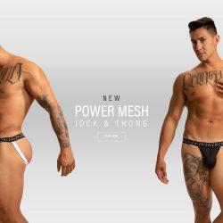 New N2N Bodywear Power Mesh