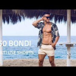 2EROS Bondi Shorts – Sand and Aqua