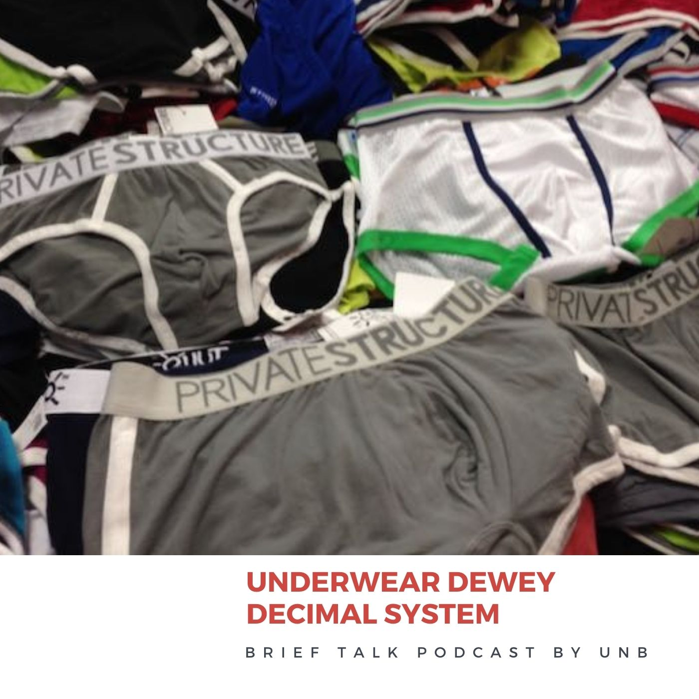 Brief Talk Podcast - Underwear Dewy Decimal System