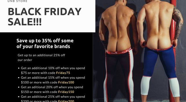 Save BIG at the UNB Store Black Friday Sale