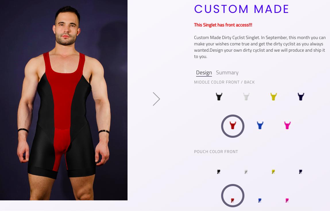 Get Custom Made Singlet from 4 Hunks