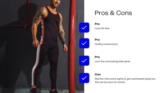 Workout Wear Review - JOR Ares Pants