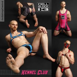New Cellblock 13 Kennel Club at Jockstrap Central