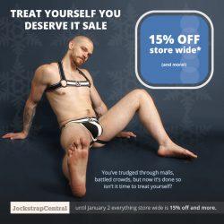 Treat Yourself Sale – 15% Off