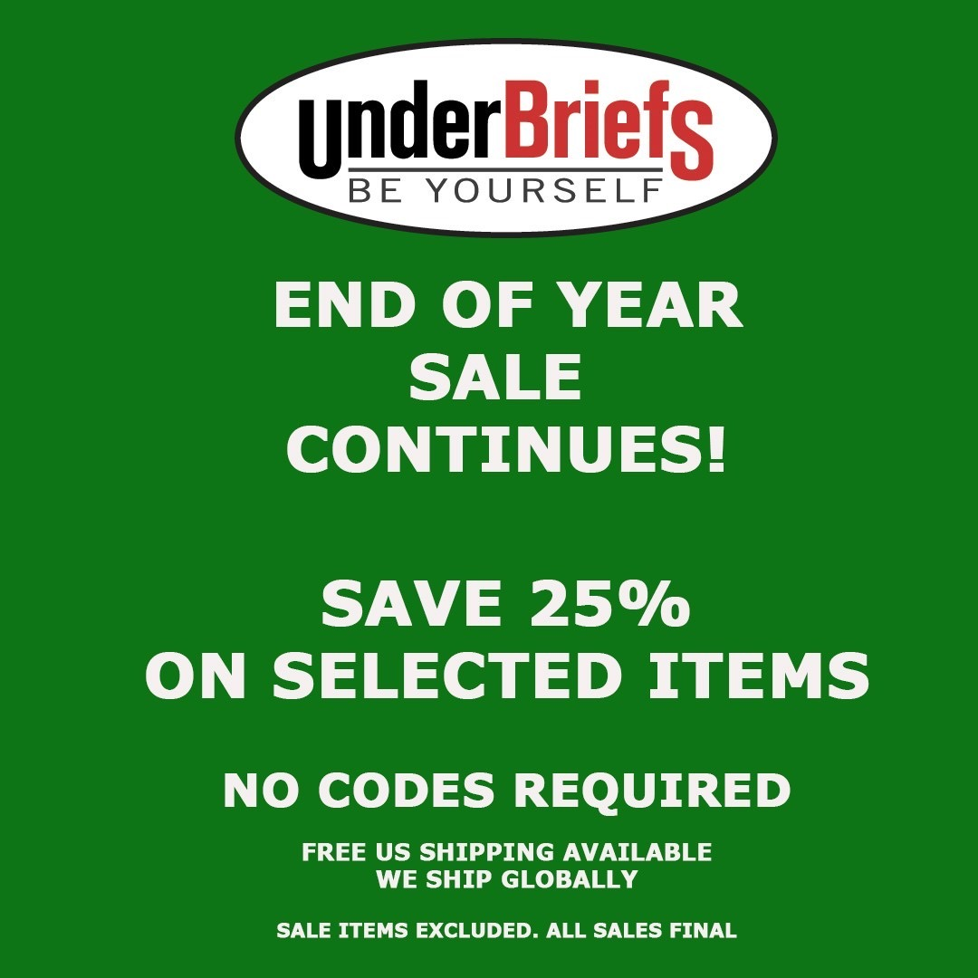 End of year Sale at UnderBriefs