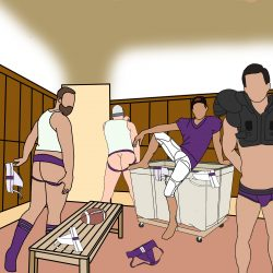 Brief Distraction featuring UNB Tim Locker Room Jockfest
