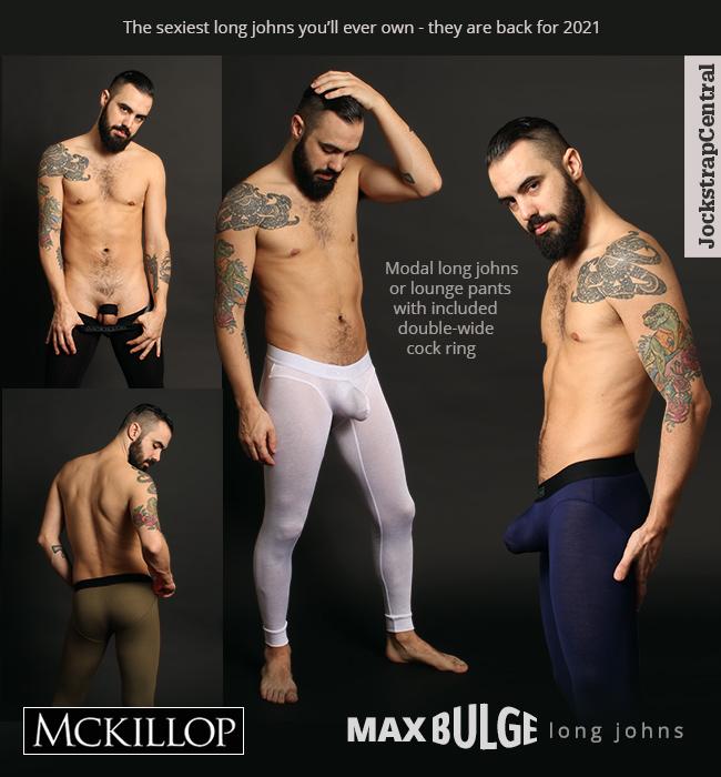 McKillop Max Bulge Long Johns are Back at Jockstrap Central